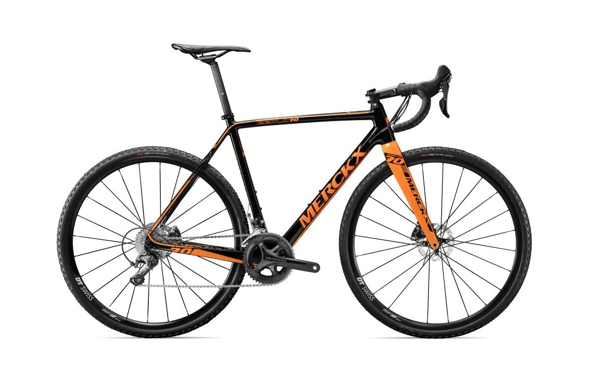 EDDY MERCKX EEKLO 70 ULTEGRA DISC BLACK/ORANGE