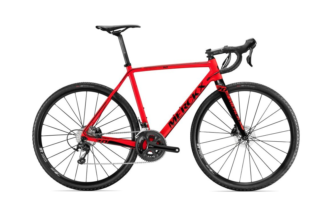 EDDY MERCKX EEKLO 70 105 DISC RED GLOSSY