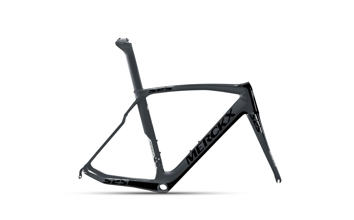 EDDY MERCKX EM525 PERFORMANCE BLACK/SILVER rámový set
