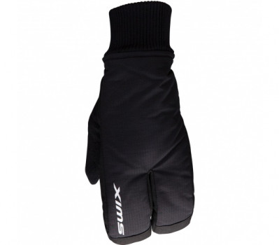 SWIX JR. SPLIT MITT Black