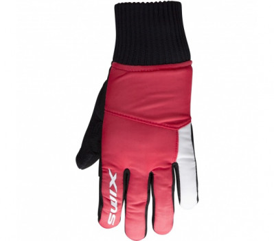 SWIX POLLUX JR Red