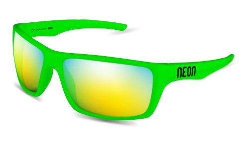 NEON JET Green Fluo/Mirror Steel