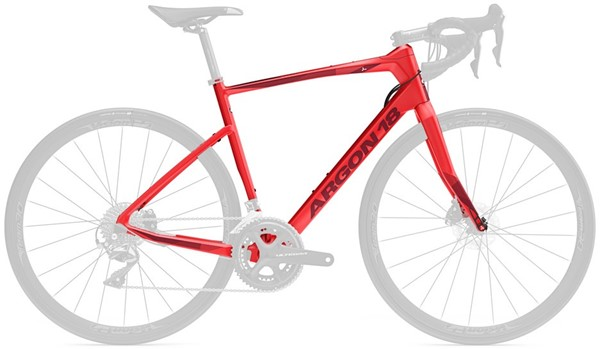 ARGON 18 KRYPTON CS 2019 Red Matte RÁMOVÁ SADA