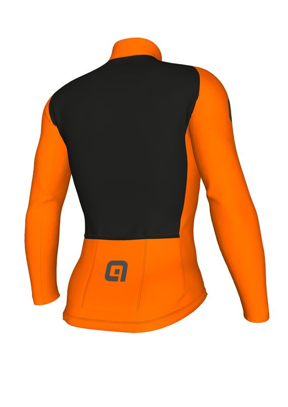 náhled ALÉ CLIMA PROTECTION 2.0 WARM AIR JERSEY Fluo Orange