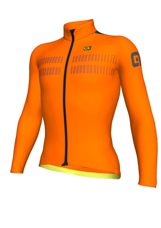 ALÉ CLIMA PROTECTION 2.0 WARM AIR JERSEY Fluo Orange