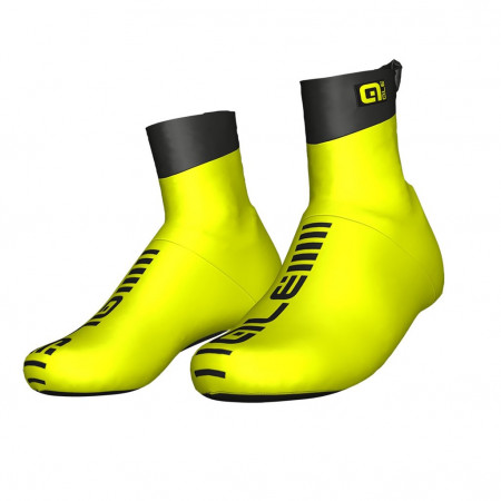 detail ALÉ AERO SHOECOVER Fluo Yellow/Black