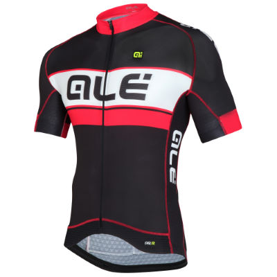 ALÉ BERMUDA – black/red