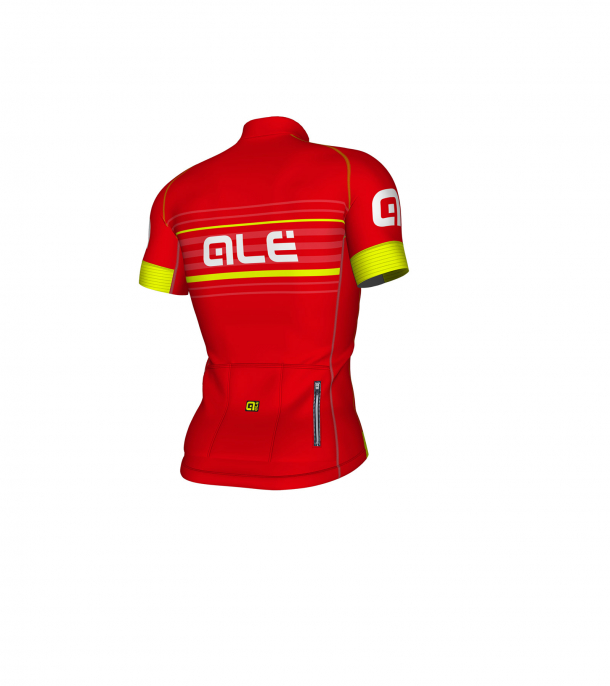 náhled ALÉ GRAPHICS PRR SALITA JERSEY Red/Fluo Yellow