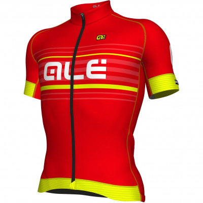 ALÉ GRAPHICS PRR SALITA JERSEY Red/Fluo Yellow