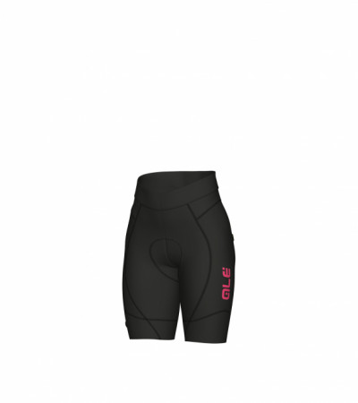 detail ALÉ PRR 2.0 CIMA LADY SHORT Black/Fluo Pink