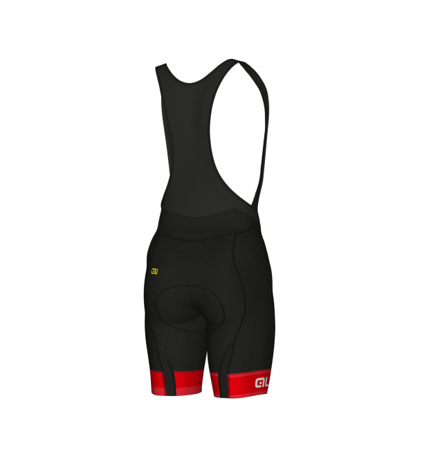 detail ALÉ GRAPHICS PRR SELLA BIBSHORT Red/White