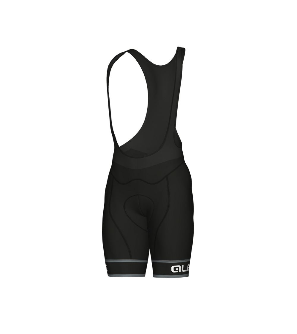 detail ALÉ GRAPHICS PRR SELLA BIBSHORT Black/White