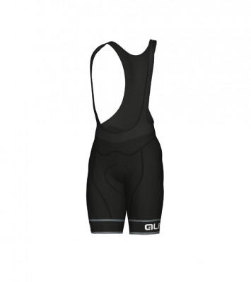ALÉ GRAPHICS PRR SELLA BIBSHORT Black/White