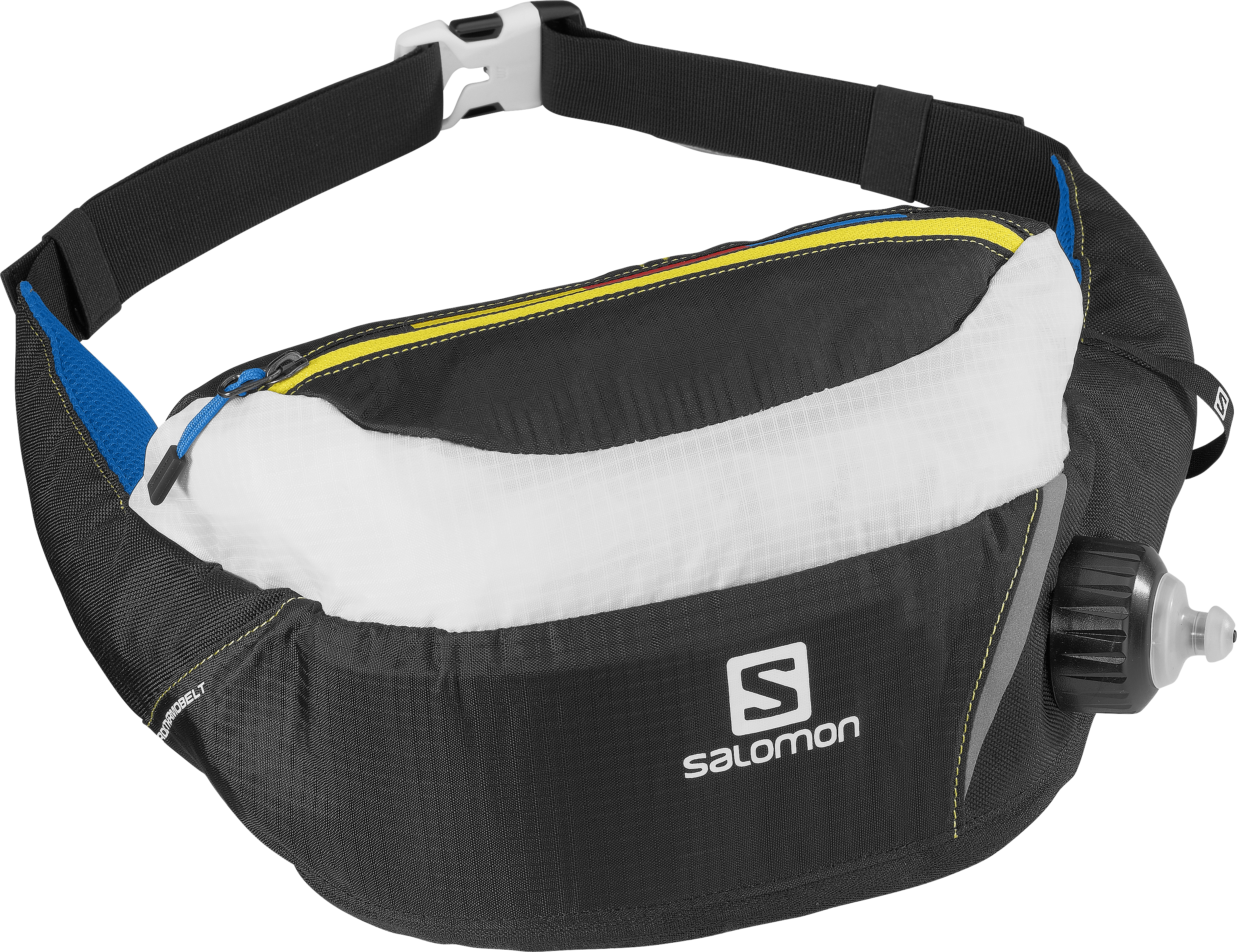 SALOMON NORDIC THERMOBELT BLACK/Yellow/WHITE