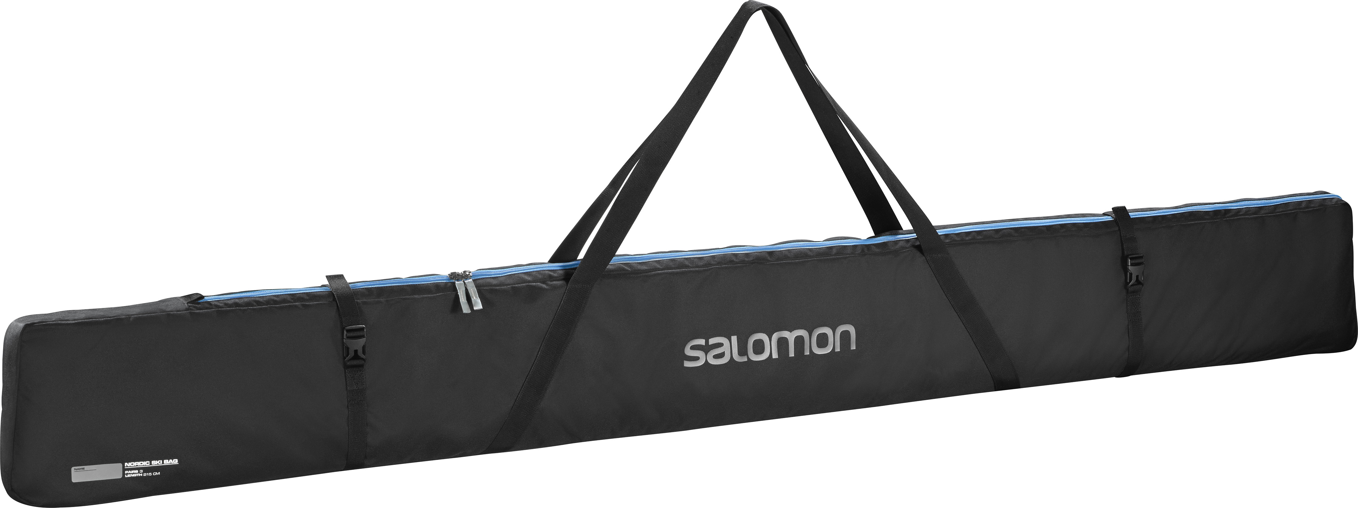 SALOMON NORDIC 3 PAIRS 215 SKI BAG – Black/BL L38299900
