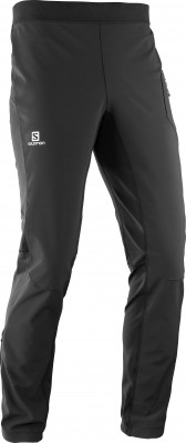SALOMON RS WARM SOFTSHELL PANT Black