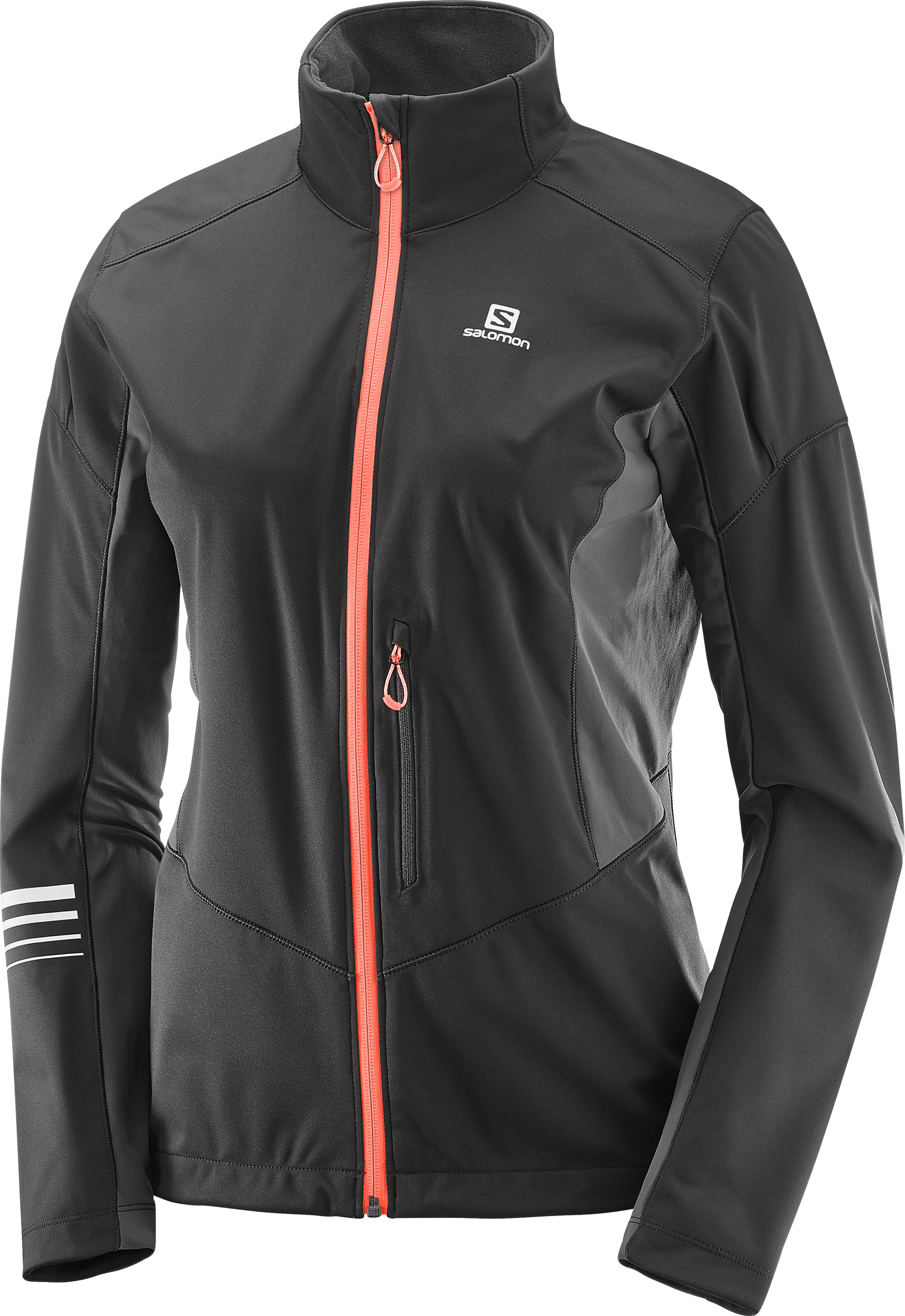 SALOMON LIGHTNING SHELL JKT W Black/Forged Iron