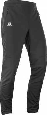 SALOMON RS SOFTSHELL PANT Black