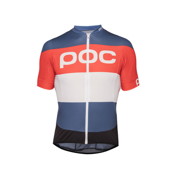 POC ESSENTIAL ROAD LOGO Prismane Multi Red