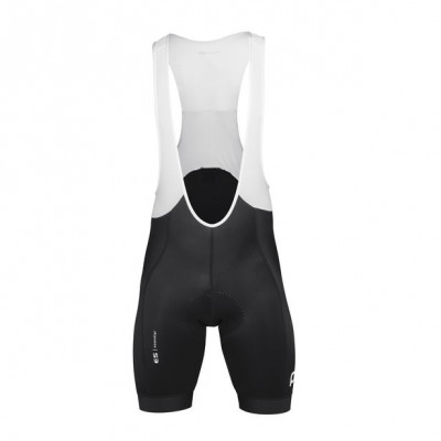 POC ESSENTIAL ROAD BIBSHORTS URANIUM BLACK