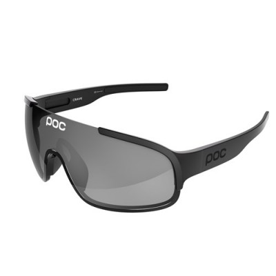 POC CRAVE Uranium black Translucent/grey brown /silver Mirror