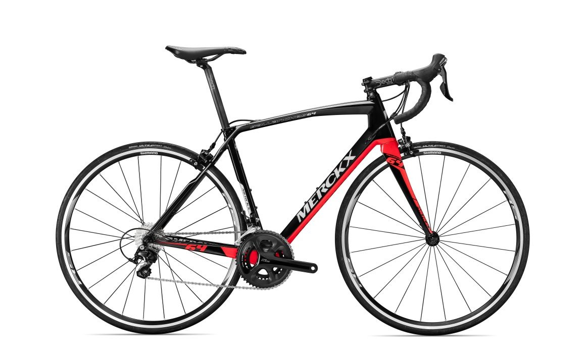 náhled EDDY MERCKX SALANCHES64 TIAGRA BLACK/RED