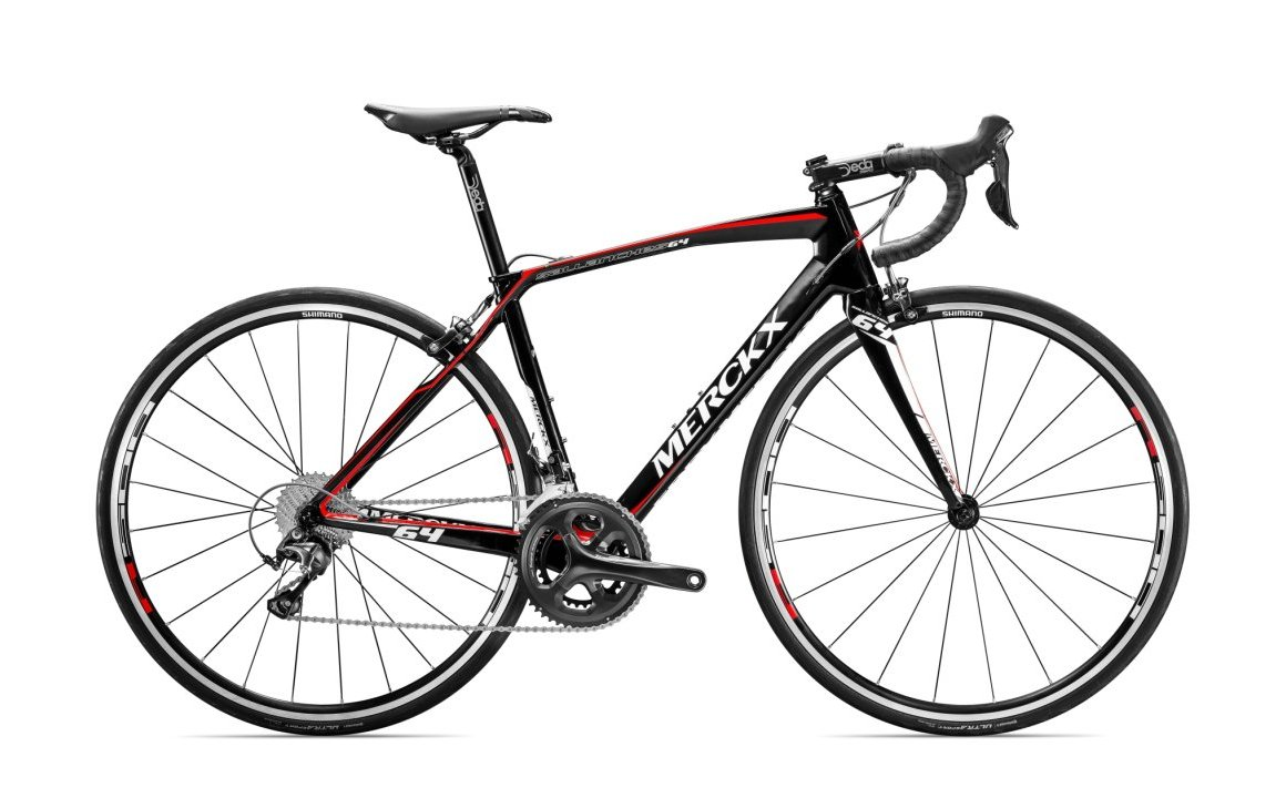 EDDY MERCKX SALANCHES64 TIAGRA BLACK/RED/WHITE