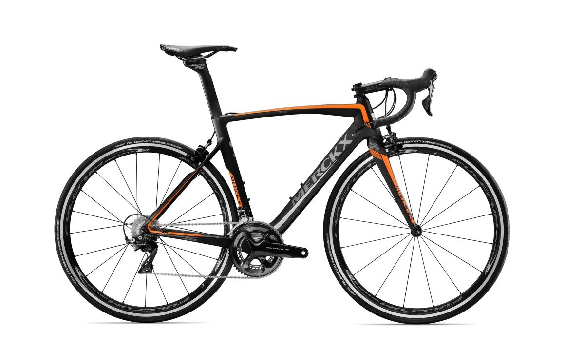 EDDY MERCKX SAN REMO76 DURA ACE BLACK/ORANGE