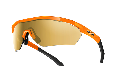 NEON STORM Orange Fluo/Mirror Gold