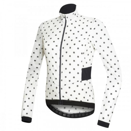 detail DOTOUT TEMPO JACKET White/Black