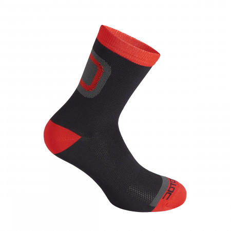 detail DOTOUT LOGO SOCKS Black/Red A15X112-903