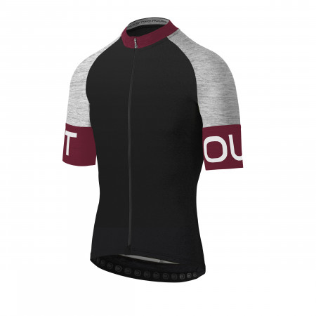 detail DOTOUT PURE JERSEY Black/Bordeaux A17M070-924