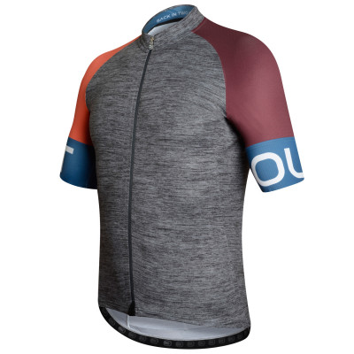 DOTOUT SPIN JERSEY Melange/Orange/Bordeaux
