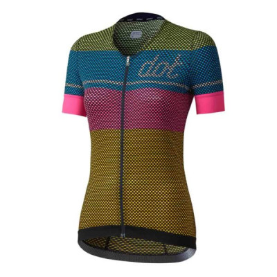 DOTOUT GLORY W JERSEY Lime/Light Blue/Pink/Yellow A17W030-131