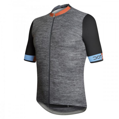 DOTOUT HYBRID JERSEY Melange/Orange/Light Blue