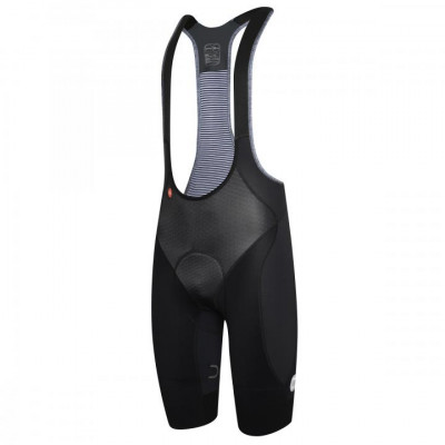 DOTOUT DUAL GRIPPER BIB SHORT Black