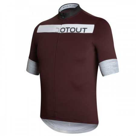 detail DOTOUT HORIZON JERSEY Bordeaux/Black
