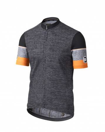 detail DOTOUT HERO JERSEY Melange Dark Grey/Fluo Orange A19M110-82F