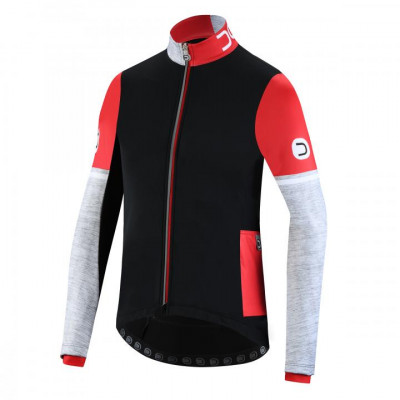 DOTOUT COMBAT JACKET Black/Red A19M510