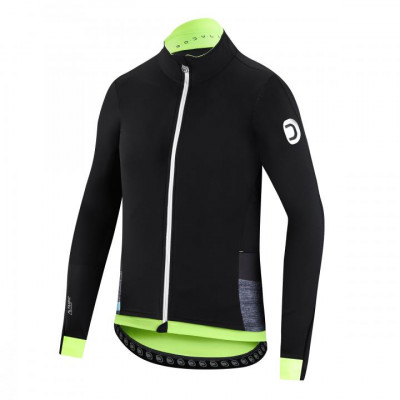 DOTOUT BODYLINK JACKET Black/Fluo Yellow A19M540