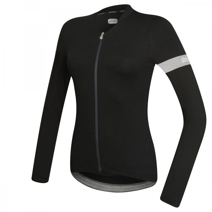 DOTOUT BLOCK LONG SLEEVE W JERSEY Black