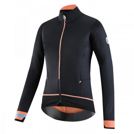detail DOTOUT BODYLINK JACKET Black/Fluo Orange A19W530