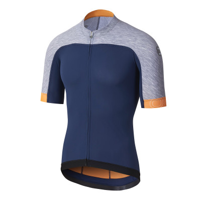 DOTOUT SKIN JERSEY Blue/Melange Light Grey A20M020-784