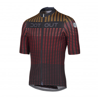 DOTOUT FLASH JERSEY Black/Red A20M101-903