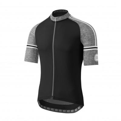 DOTOUT FUSION JERSEY Black/Melange Light Grey A20M120-940