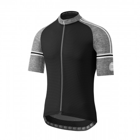 detail DOTOUT FUSION JERSEY Black/Melange Light Grey A20M120-940