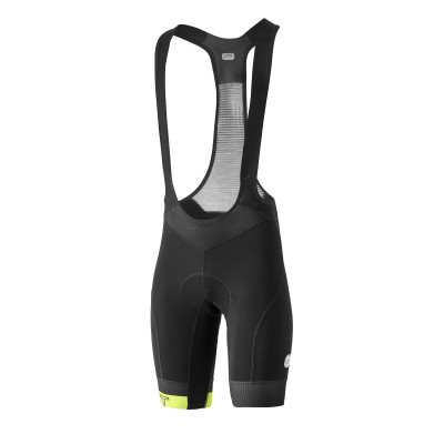 DOTOUT ICON BIB SHORT Black/Lime A20M280-913
