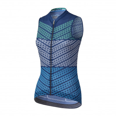 DOTOUT FLASH SLEEVELESS W JERSEY Blue