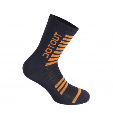 DOTOUT STRIPE SOCKS Deep Blue/Fluo Orange A20X120-71F