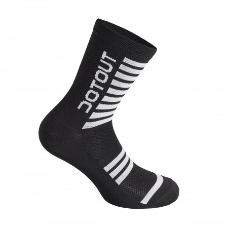 detail DOTOUT STRIPE SOCKS Black/White A20X120-910